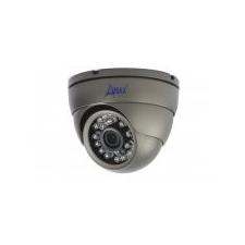 A-MAX AXIRDBNEC-2.8 1/3 Színes IR dome kamera 800TVL, 2.8mm fix, valós day/night - ANTRACIT színben megfigyelő kamera