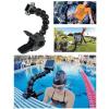 Sec-CAM SJ/GP-91, 6 csuklótagos, flexibilis, nagyméretű rögzítő CSIPESZES műanyag KONZOL - SJCAM és GoPro akciókamerához - SJCAM SJ4000, SJ5000, X1000 sorozatokhoz