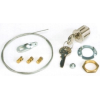 Faac F424590001 Kulcsos kuplung kioldó az 560-as hidraulikus motorhoz, 1-36-ig számozott egyedi kulcsok, ajtón kívüli nyitáshoz