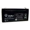 DIAMEC DM6-3.2 akkumulátor biztonságtechnikai rendszerekhez és elektromos játékokhoz