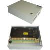 Lemar HS 12512 12V 12.5A 16 csatornás dobozolt ipari tápegység, védelmekkel