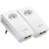 ZyXEL 1000 Mbps Powerline Gigabit Ethernet Adapter Twin Pack (PLA5256-EU0201F)