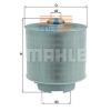 MAHLE ORIGINAL (KNECHT) MAHLE ORIGINAL LX1006/2D levegőszűrő