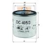 MAHLE ORIGINAL (KNECHT) MAHLE ORIGINAL OC405/3 olajszűrő