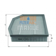 MAHLE ORIGINAL (KNECHT) MAHLE ORIGINAL LX1250 levegőszűrő levegőszűrő