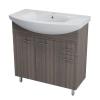 Aqualine Zoja mosdótartó szekrény mosdóval 83x74 51082