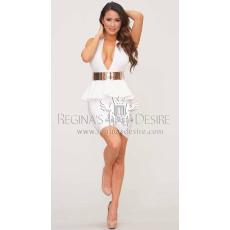 Regina's Desire Sandra Peplum Bandage Ruha