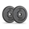 Capital Sports CAPITAL SPORTS IPB 5, fekete, súlytárcsák, pár, 30 mm, 5 kg