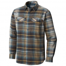 Columbia Silver Ridge Flannel Long Sleeve Shirt Ing D (1681631-p_203-New Cinder)