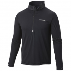 Columbia Trail Flash Half Zip Sport póló,aláöltöző D (1652631-p_010-Black)