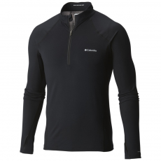 Columbia Midweight Stretch Long Sleeve Half Zip D (1638571-p_010-Black)