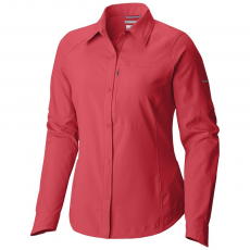 Columbia Silver Ridge Long Sleeve Shirt Ing,blúz D (1443231-p_637-Punch Pink)
