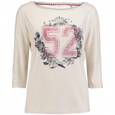 O'Neill LW Freedom Long Sleeve Top T-shirt,top D (O-657120-p_1049-Silver White)