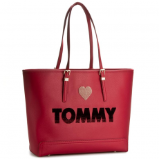 Tommy Hilfiger Táska TOMMY HILFIGER - Honey Ew Tote Embroidered AW0AW03259 903