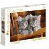 Clementoni Puzzle 500 Szürke kiscicák
