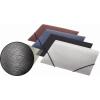 GUMIS mappa, 15 mm, PP, A5, PANTA PLAST Simple metál ezüst
