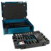 Makita B-43044 66 db-os fúró-csavarbehajtókészlet MAKPAC kofferben