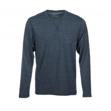 Fundango Pocket T Long T-shirt D (1TP104_746-dark grey heather)
