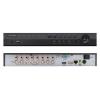 EuroVideo EVD-08/100HDS 8 csatornás H.264 asztali DVR, 4 hang BE, 12,5 fps/1080p max felbontás, 1x4 TB SATA HDD