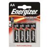 ENERGIZER Elem, AA ceruza, 4 db, ENERGIZER