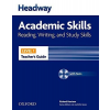 Oxford University Press Richard Harrison: Headway Academic Skills Reading, Writing and Study Skills Level 1 Teacher's Guide with Test CD-ROM