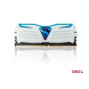 Geil DDR4 8GB 2400MHz GeIL Frost White Super Luce Blue LED CL16 KIT2
