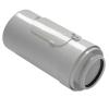 Tricox PAEE60C egyenes ellenőrző idom PPs/Alu 80/125mm