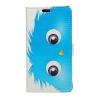 Sony Xperia M4 Aqua Tok Mintás Notesz Flip Kitámasztható Kártyatartóval Retro Style RMPACK B001