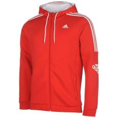 adidas férfi pulóver - adidas Three Stripe Logo Hoodie