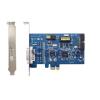 GEOVISION GV 600B/4 4 csatornás megfigyelő rendszer max 25 fps, max 704x576 felb., 4 audio, PCI-E 1x
