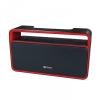 Bluetooth hordozható hangszóró, 2 x 5W, BT v4.1, BS-600, fekete/piros