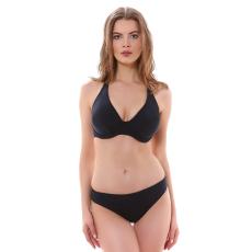 Remix merevítős szivacsos nyakbakötős bikini felső