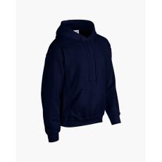 GILDAN bélelt kapucnis pulóver, sötétkék