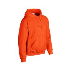 GILDAN bélelt kapucnis pulóver, narancs