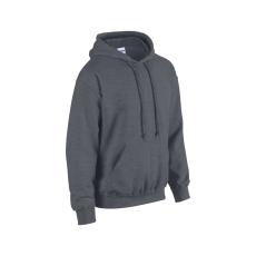 GILDAN bélelt kapucnis pulóver, sötétszürke