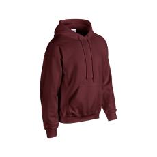 GILDAN bélelt kapucnis pulóver, maroon