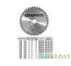 KÖRFŰRÉSZLAP GRAPHITE 57H674 200X30 Z 24 fűrészlap