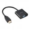 Akasa HDMI-VGA átalakító /AK-CBHD15-20BK/