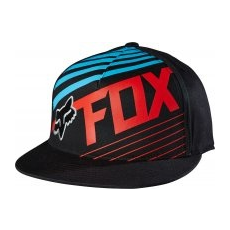 FOX férfi sapka Solvent 210 Fitted L/XL fekete