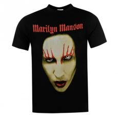 Official Official Marilyn Manson póló férfi