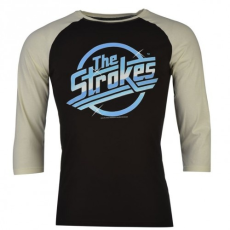 Official Official The Strokes raglán póló férfi