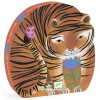 DJECO The tiger's walk - Tigris - 24 db-os puzzle