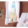 Prémium függöny a babaszobába - Fehér álom
