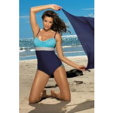marko Egyrészes fürdőruha Whitney Cosmo-Baia-Mastice M-253 kék