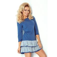 saf Mini ruha 106-1 kék