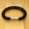 Yiwu Chanfar Jewelry Factory Egysoros hálós kristály karkötő - fekete