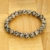 Yiwu Chanfar Jewelry Factory Dalmata jáspis ásvány karkötő
