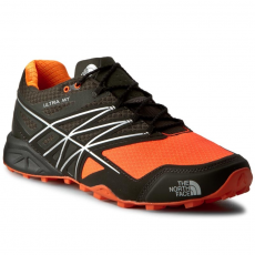 The North Face Bakancs THE NORTH FACE - Ultra Mt T0CCN7AYS-8 Black Ink Green/Power Orange