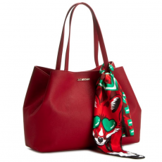 Love moschino Táska LOVE MOSCHINO - JC4274PP02KL0514 Rosso Scuro