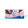 Perla COLOR rózsaszín 8x150 lapos, 3 rétegű, illatosított wc papír